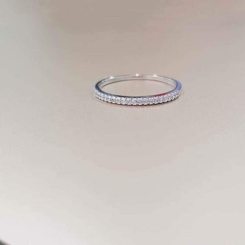nhẫn bạc 1 hàng đá - 6688696 , 13369583 , 15_13369583 , 100000 , nhan-bac-1-hang-da-15_13369583 , sendo.vn , nhẫn bạc 1 hàng đá