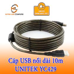 Cáp nối dài 10m USB 2.0 UNITEK YC429 chính hãng