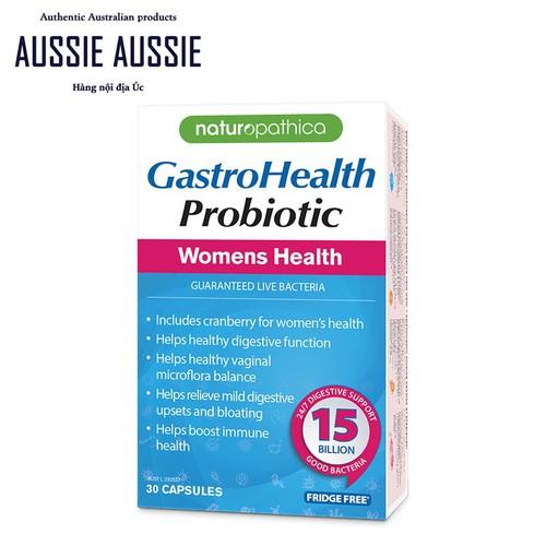 Men vi sinh Úc bổ sung 15 tỷ lợi khuẩn cho phụ nữ Naturopathica GastroHealth Probiotic Womens Health 30 viên aussie.vn - 6692836 , 13374436 , 15_13374436 , 379000 , Men-vi-sinh-Uc-bo-sung-15-ty-loi-khuan-cho-phu-nu-Naturopathica-GastroHealth-Probiotic-Womens-Health-30-vien-aussie.vn-15_13374436 , sendo.vn , Men vi sinh Úc bổ sung 15 tỷ lợi khuẩn cho phụ nữ Naturopathic