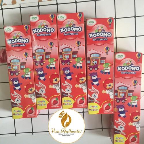 Kem đánh răng trẻ em Kodomo hương dâu Thái Lan 40g - 6683178 , 13362639 , 15_13362639 , 23000 , Kem-danh-rang-tre-em-Kodomo-huong-dau-Thai-Lan-40g-15_13362639 , sendo.vn , Kem đánh răng trẻ em Kodomo hương dâu Thái Lan 40g