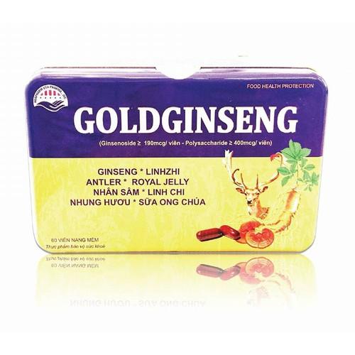 Sâm hộp sắt Goldginseng