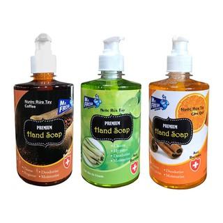 Bộ 3 bình nước rửa tay tiệt trùng Mr Fresh Korea 500ml 3 Hương Ngẫu Nhiên Tùy Chọn - BH457-3 thumbnail