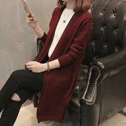 Áo khoác len cardigan
