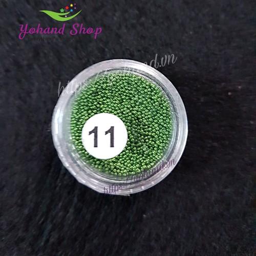 Hạt thủy tinh trang trí móng - resin 11