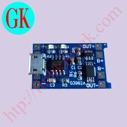 Mạch sạc pin 3,7V - TP4056 BV - Mạch sạc pin có bảo vệ
