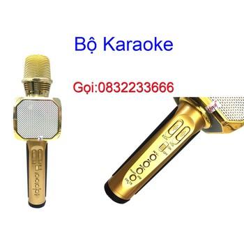 Micro Bluetooth Kèm Loa Hát Karaoke