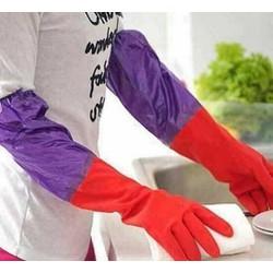 Găng tay rửa chén cao su siêu dai hình con hươu – Găng tay vệ sinh – Găng tay rửa bát (Size ngẫu nhiên)