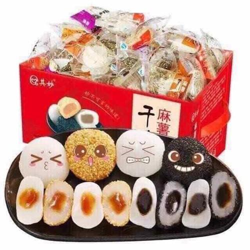 Bánh mochi hộp đỏ Đài Loan 2kg