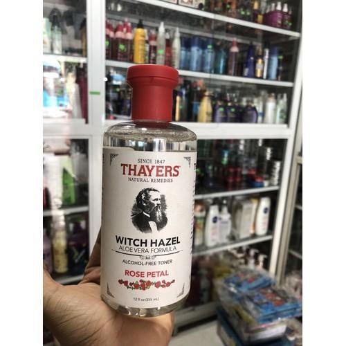Nước hoa hồng không cồn Thayers