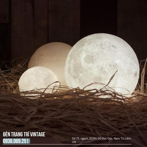 Đèn mặt trăng cảm biến - Quà tặng giáng sinh - 18cm