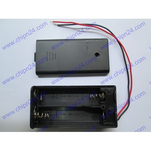 [2 CÁI] Hộp Đế pin 2 viên AA có nắp, có công tắc - 4560730 , 13383893 , 15_13383893 , 20000 , 2-CAI-Hop-De-pin-2-vien-AA-co-nap-co-cong-tac-15_13383893 , sendo.vn , [2 CÁI] Hộp Đế pin 2 viên AA có nắp, có công tắc