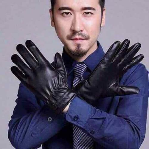 Găng tay da nam hàng đẹp cao cấp