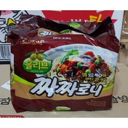 Combo 5 Gói Mì Cay Tương Đen Hàn Quốc