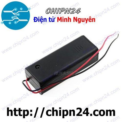 [2 CÁI] Hộp Đế pin 1 viên AA có nắp, có công tắc - 4560725 , 13383887 , 15_13383887 , 16000 , 2-CAI-Hop-De-pin-1-vien-AA-co-nap-co-cong-tac-15_13383887 , sendo.vn , [2 CÁI] Hộp Đế pin 1 viên AA có nắp, có công tắc