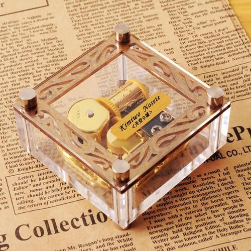 Hộp nhạc - hộp âm nhạc - hộp nhạc mẫu vuông lớn