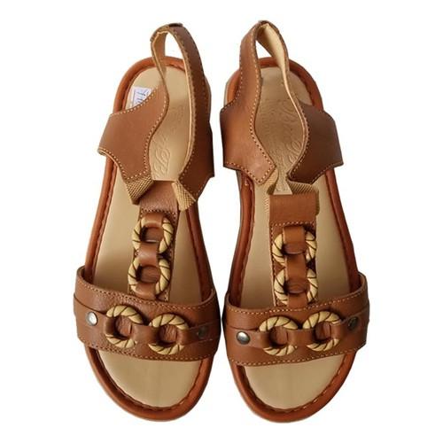 Sandal Nữ BIGBEN da bò thật cao cấp SDN46