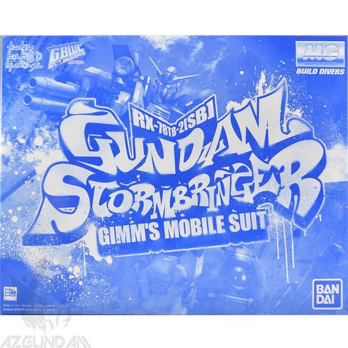 Đồ chơi mô hình lắp ráp Gundam Bandai MG Gundam Stormbringer P-Bandai