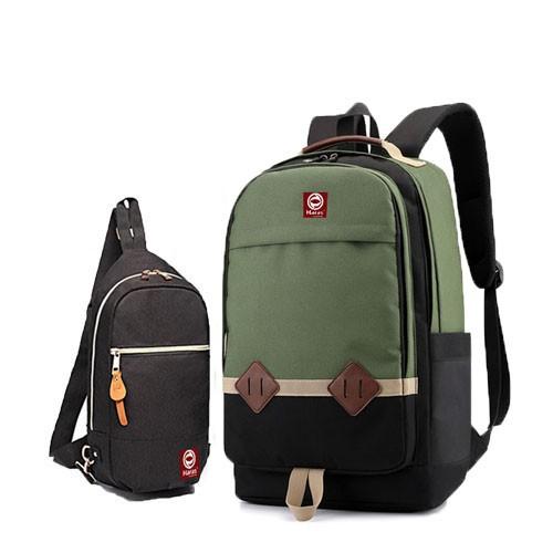 Combo balo thời trang HARAS HR233 Và túi đeo chéo cá tính HARAS HR203 1