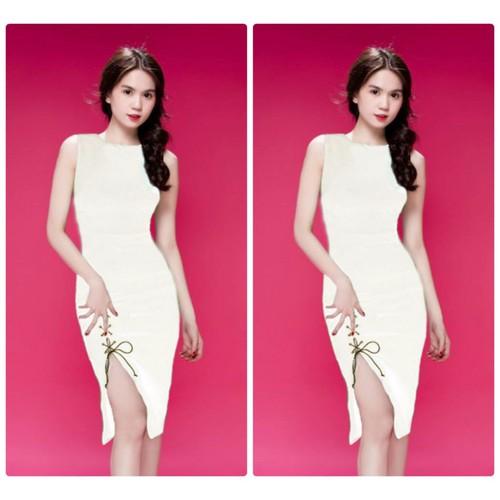 Đầm body xẻ tà thiết kế Ngọc Trinh - 4560206 , 13380505 , 15_13380505 , 469000 , Dam-body-xe-ta-thiet-ke-Ngoc-Trinh-15_13380505 , sendo.vn , Đầm body xẻ tà thiết kế Ngọc Trinh