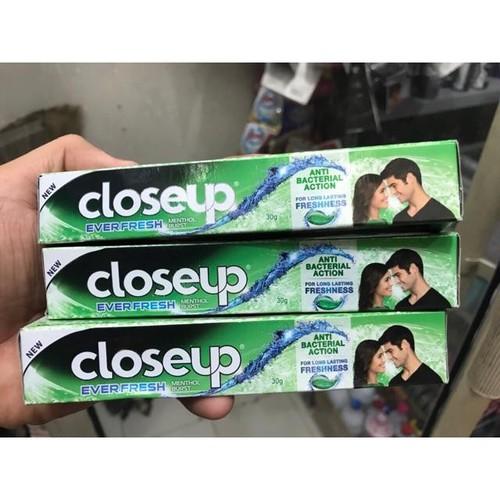 5 túyp kem đánh răng closeup bạc hà 30g