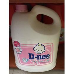 Nước giặt Dnee 3000ml Thái Lan Màu Hồng