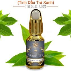 Tinh dầu trà xanh plus 20ml – Green Tea EO nguyên chất Ấn Độ