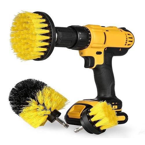 Bộ 3 Bàn chải gắn máy Khoan cầm tay - Dụng cụ cọ rửa làm sạch vệ sinh đồ da nhà cửa lốp ô tô thông minh - 10924093 , 13391361 , 15_13391361 , 250000 , Bo-3-Ban-chai-gan-may-Khoan-cam-tay-Dung-cu-co-rua-lam-sach-ve-sinh-do-da-nha-cua-lop-o-to-thong-minh-15_13391361 , sendo.vn , Bộ 3 Bàn chải gắn máy Khoan cầm tay - Dụng cụ cọ rửa làm sạch vệ sinh đồ da nh