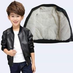 áo khoác da trẻ em - áo khoác da trẻ em