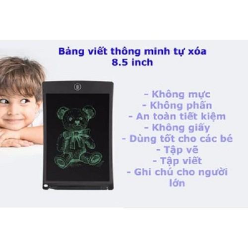 bảng tự xóa màn LCD 8.5 inch cao cấp