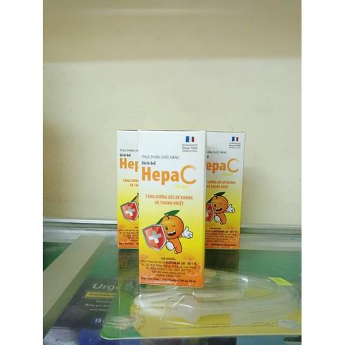 Siro bổ Hepa C tăng cường sức đề kháng và thanh nhiệt 60ml