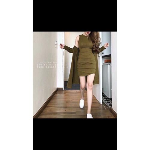 Đầm kèm áo khoác ngoài