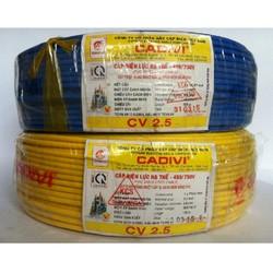 Dây cáp điện CV 2.5 CADIVI  25mm