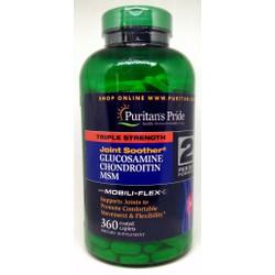 Bổ khớp Puritan Pride Glucosamine, chondroitin with msm 360 viên từ Mỹ