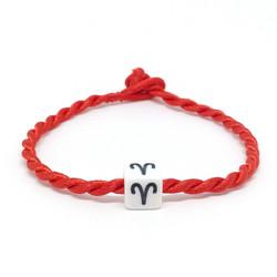 Vòng chỉ đỏ may mắn cung hoàng đạo - Bạch Dương