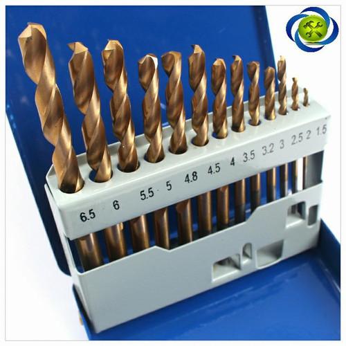Bộ mũi khoan sắt 13 mũi C-mart A0100A có phủ titanium - 5128765 , 8361069 , 15_8361069 , 175000 , Bo-mui-khoan-sat-13-mui-C-mart-A0100A-co-phu-titanium-15_8361069 , sendo.vn , Bộ mũi khoan sắt 13 mũi C-mart A0100A có phủ titanium