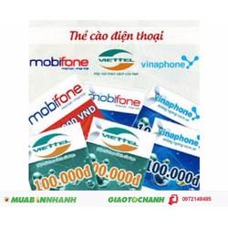 thẻ điện thoại viettel 500 ngàn thanh toán trước khi nhận hàng