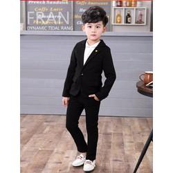 Bộ vest bé trai lịch lãm đi tiệc đi chơi mùa xuân hàng vnxk