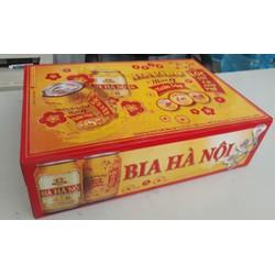 Bia Hà nội tết 2018