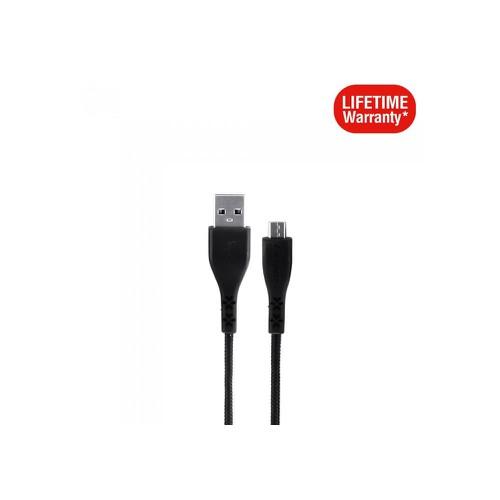 Cáp Micro USB Energizer 1.2m C41UBMCGBKM, Bảo hành trọn đời