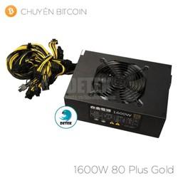 Nguồn Baijin 1600W 80 Plus Gold chuyên Bitcoin