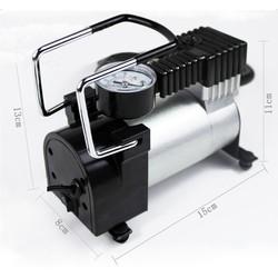 Máy bơm lốp ô tô 12V TBO-120W, Bơm lốp xe hơi mini, Bơm lốp dự phòng, Air Compressor