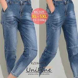 Quần jean nam bạc màu big size