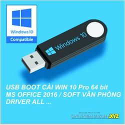 USB BOOT Cài WIN 10 Pro 64bit _ Office_Soft All tự động