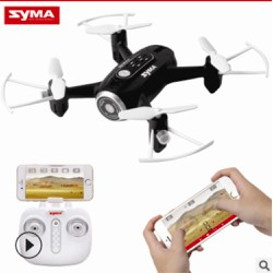 Máy bay 4 cánh Flycam Wifi Syma X22W quay video truyền hình điện thoại