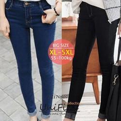 Quần skinny jean nam co giãn big size