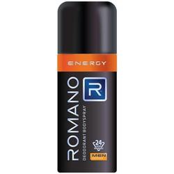 Xịt khử mùi toàn thân Romano Energy 150ml