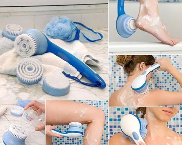 Bộ dụng cụ tắm Spin Spa Brush -0965011567 4