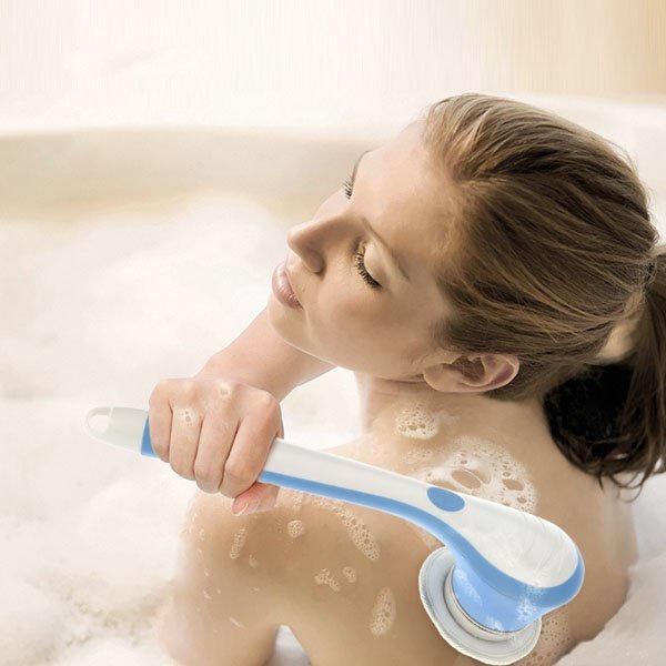 Bộ dụng cụ tắm Spin Spa Brush -0965011567 10