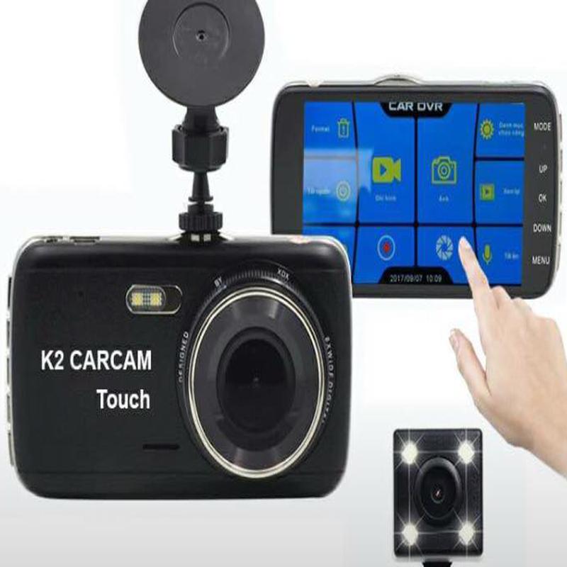 Camera Hành Trình carcam K2 Touch Màn hình cảm ứng 3
