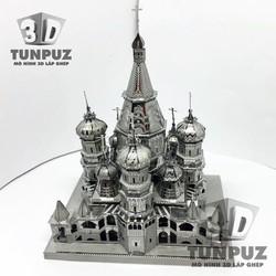 Nhà thờ chính tòa Thánh Vasily - Mô hình 3D